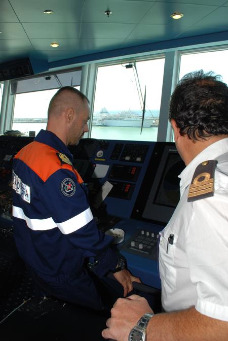 guardia costiera ispezione