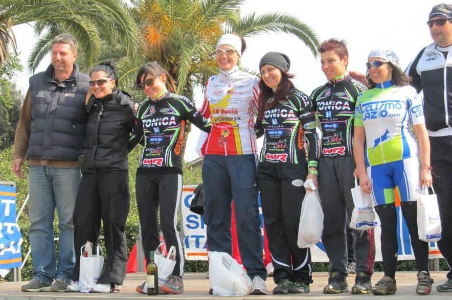 Aprilia Mtb 2014 podio femminile