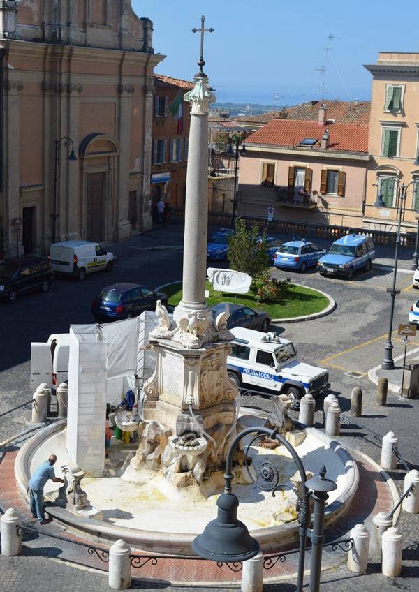 Fontana monumentale di piazza Giacomo Matteotti