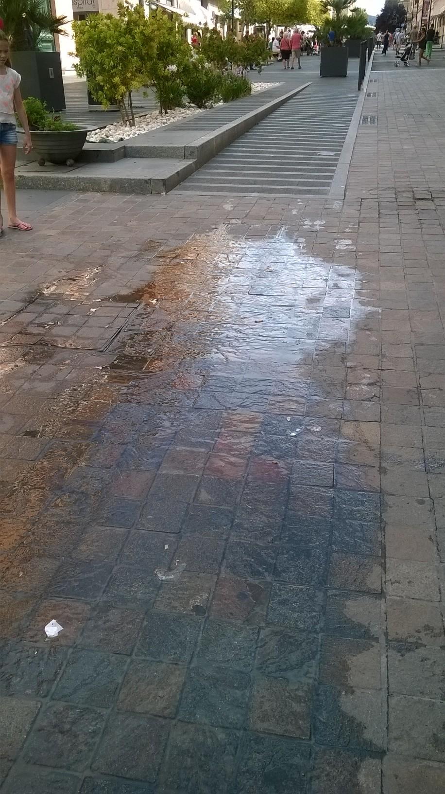 perdita d'acqua