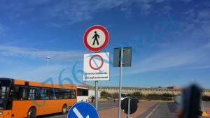 largo della pace parcheggio chiuso