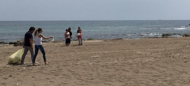 pulizia spiagge ladispoli