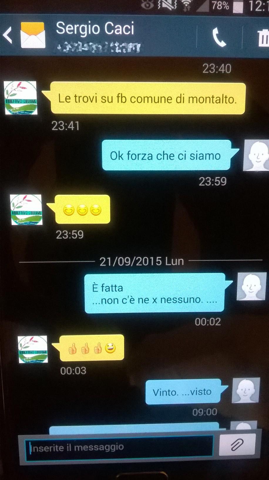schermata caci miss italia