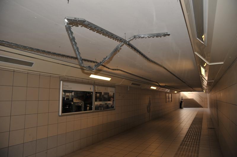 stazione degrado