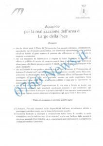 documento 1 largo della pace