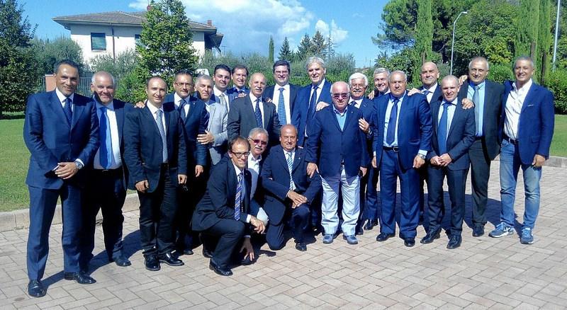 presidenti sezione AIA al raduno di Lazise