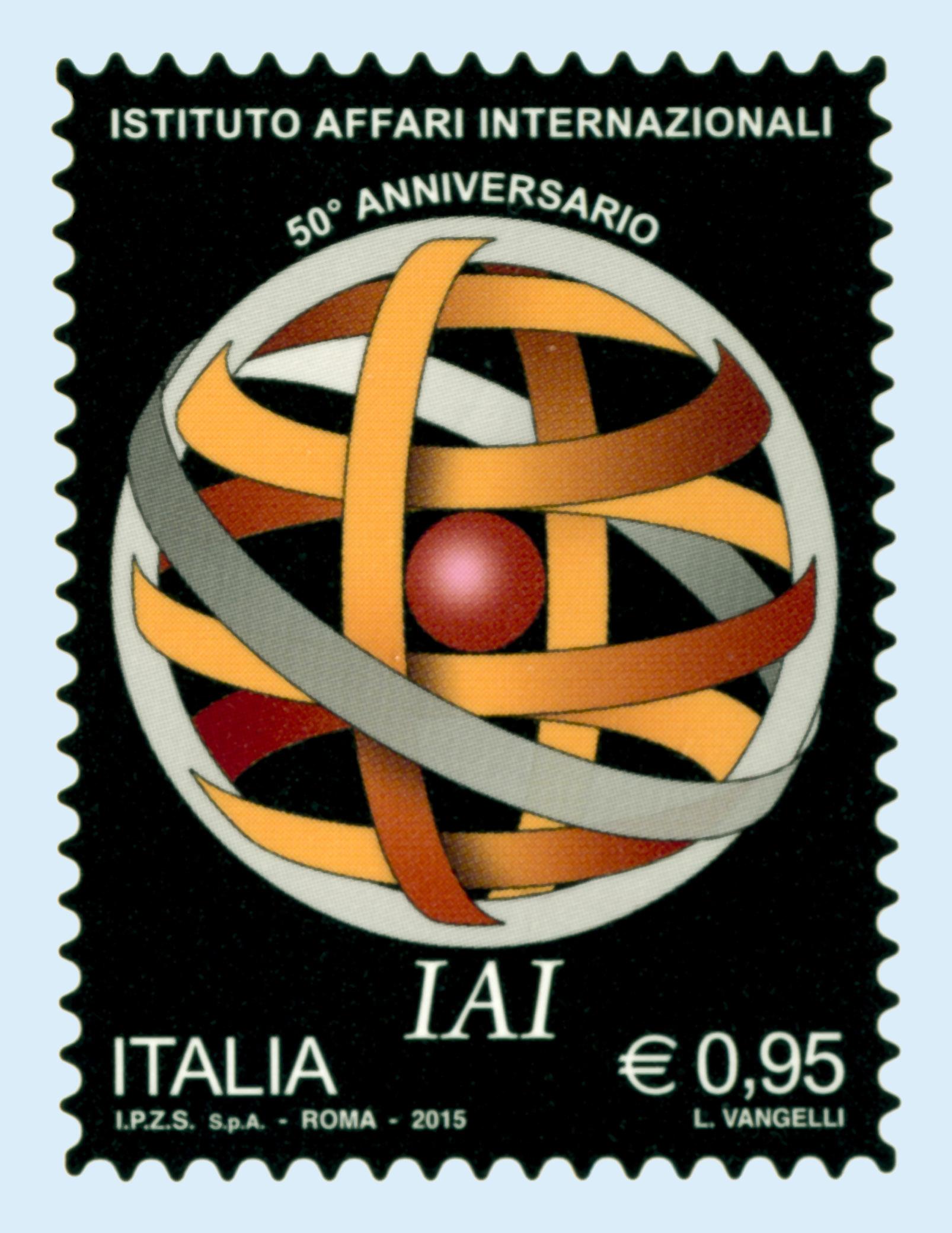 Affari Internazionali francobollo