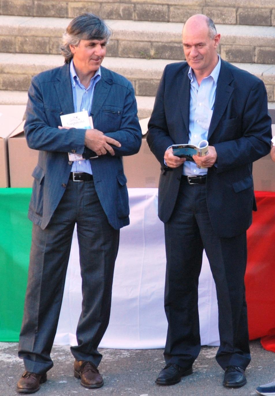 Celli e il sindaco Mazzola