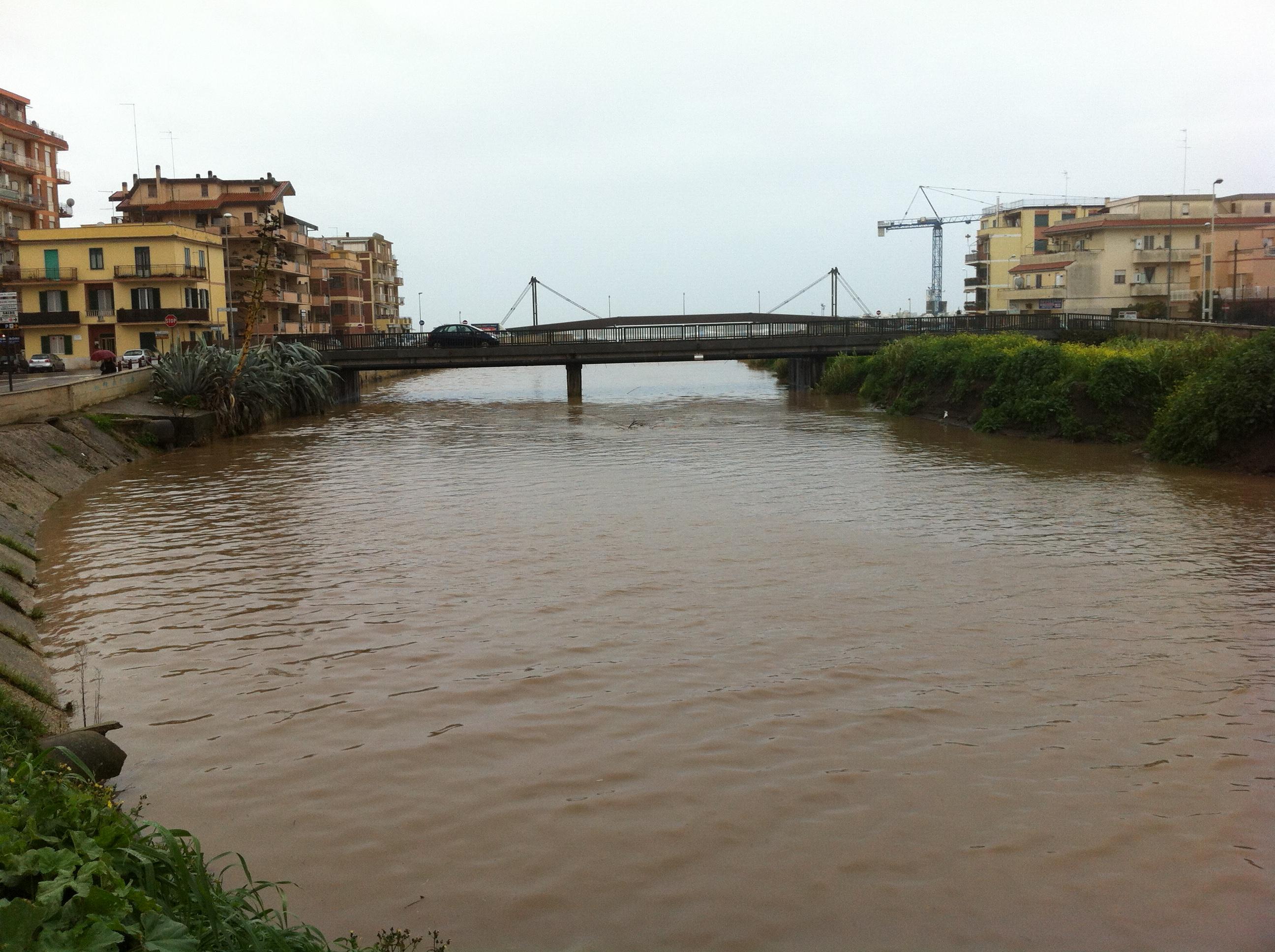 fiume vaccina ladispoli