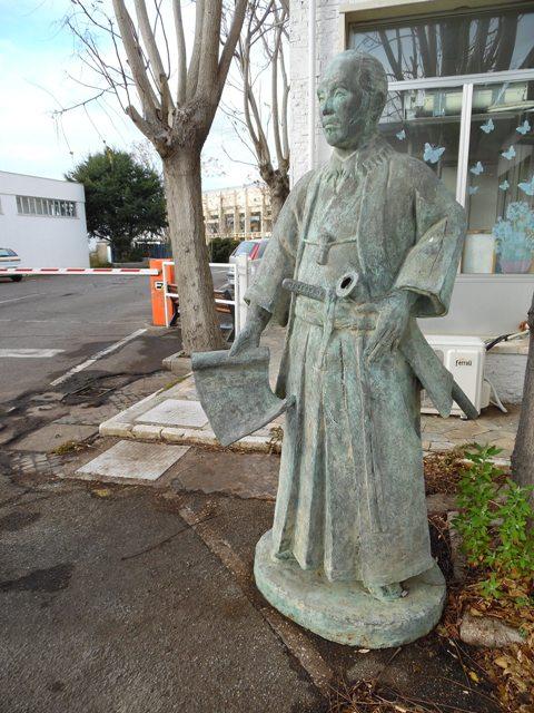 statua hasekura tsunenaga