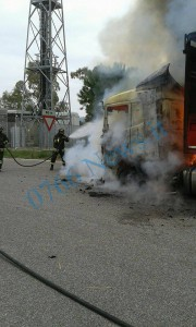 vigili del fuoco incendio tir (1)