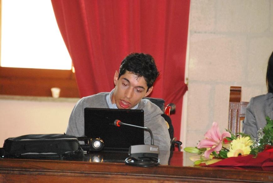 Il consigliere comunale Marco Gentili