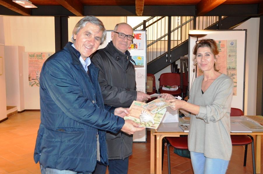L'assessore Celli, il sindaco Mazzola e la prof.ssa Angeletti