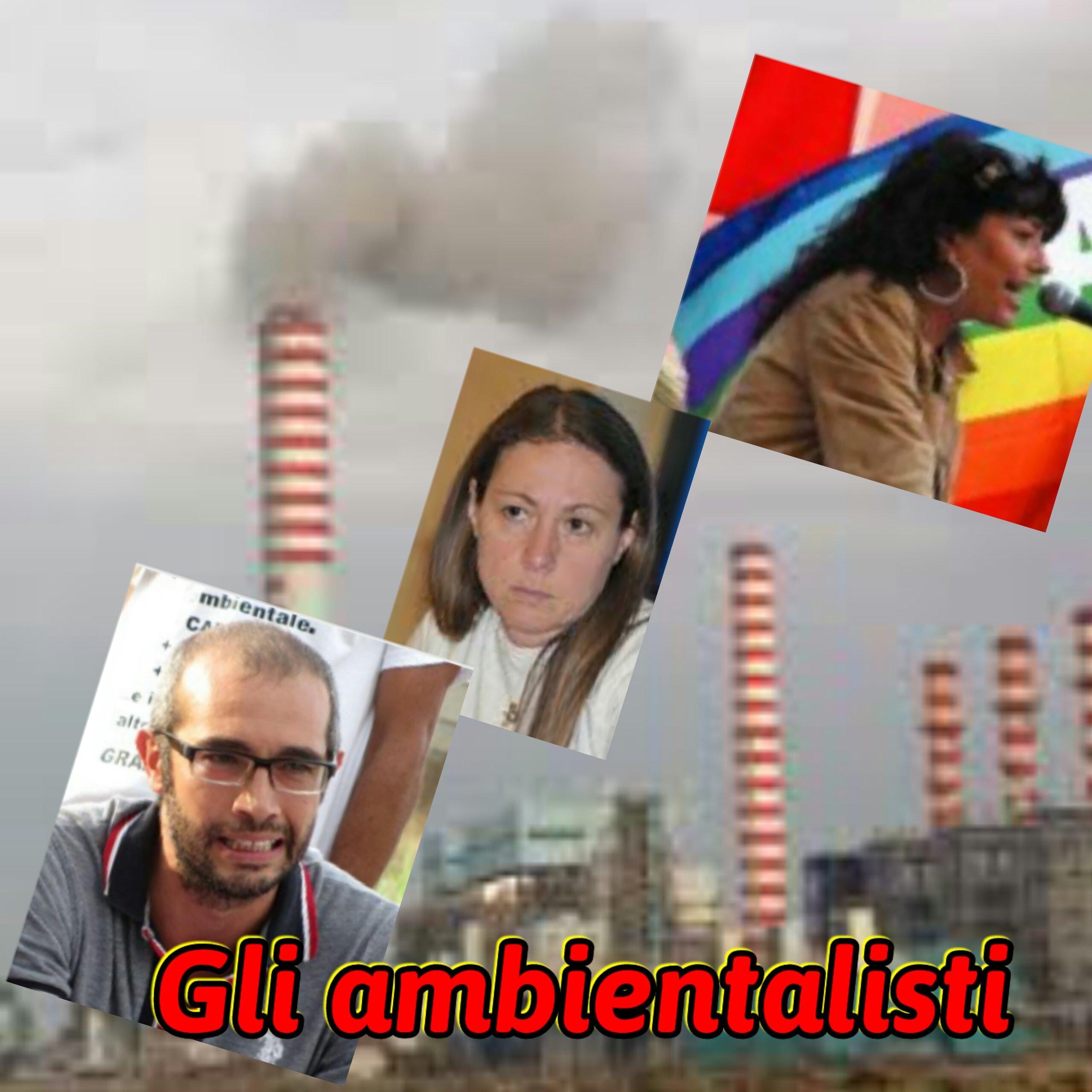 ambientalisti attaccati al fumo