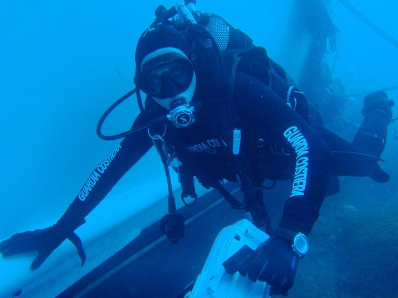 guardia costiera sub
