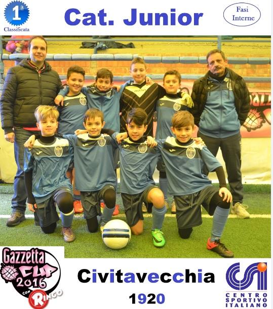 gazzetta cup junior civitavecchia