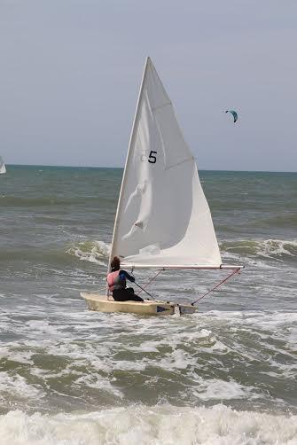 vela campo di mare