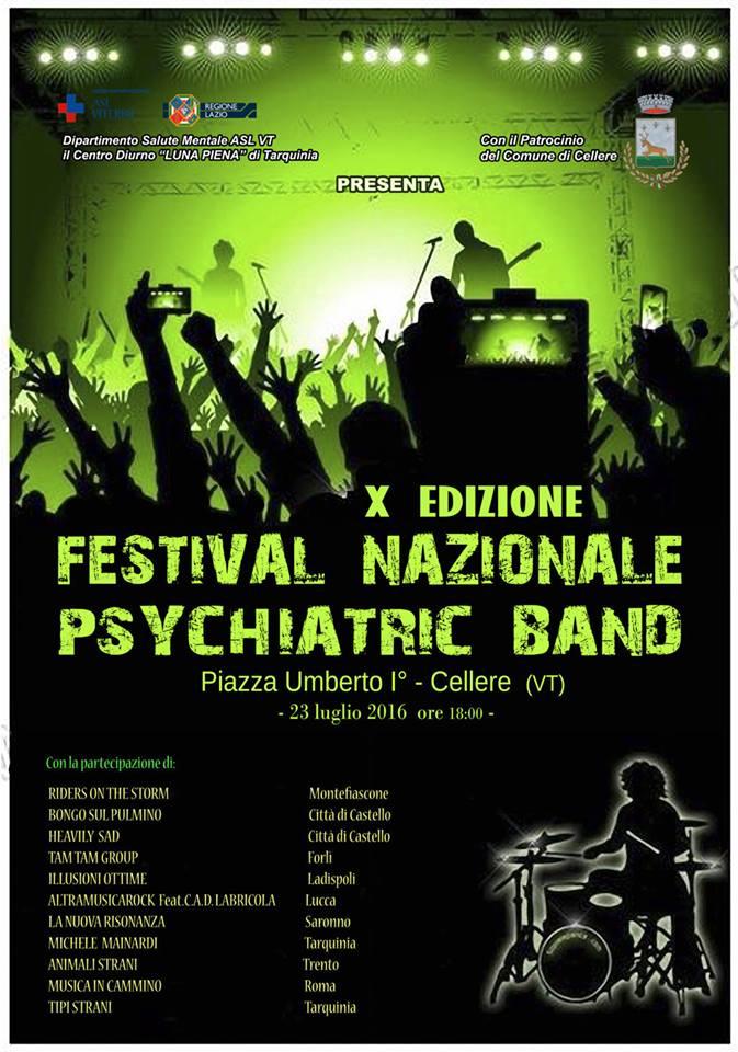 psychiatric band