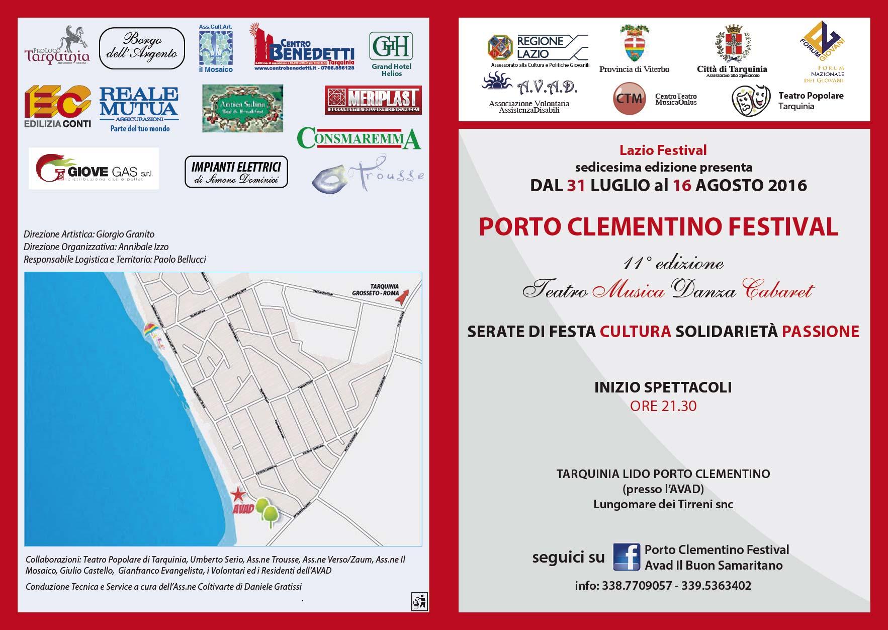 porto clementino festival