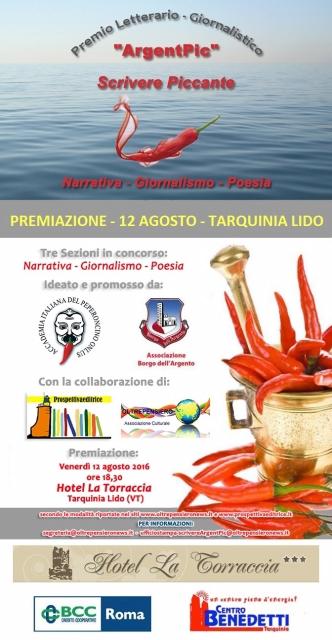 Locandina - Premio ArgentPic