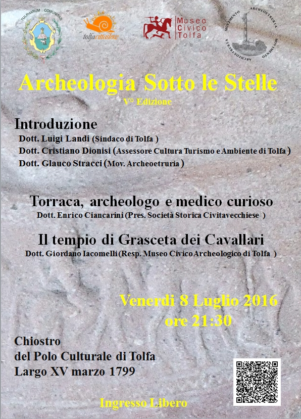 archeologia sotto le stelle