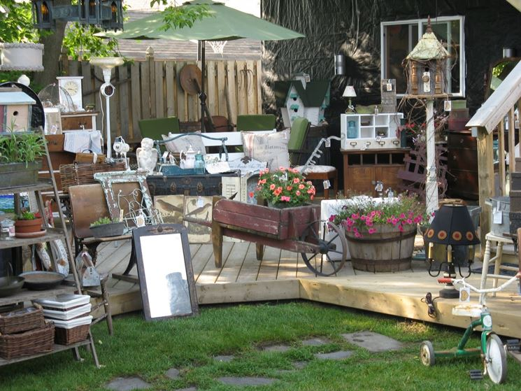 giardino mercatino usato