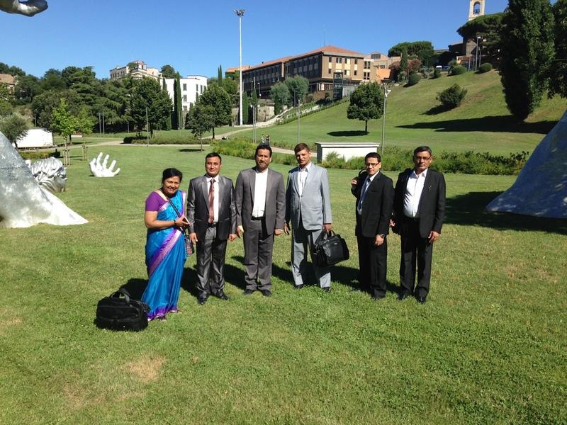 delegazione nepal unitus