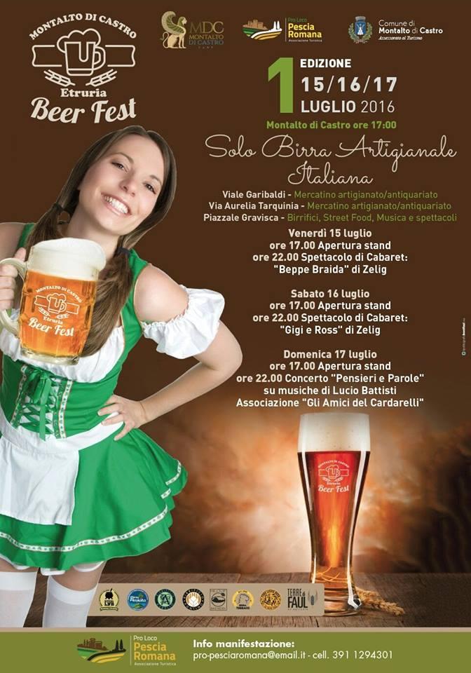 locandina beer festival