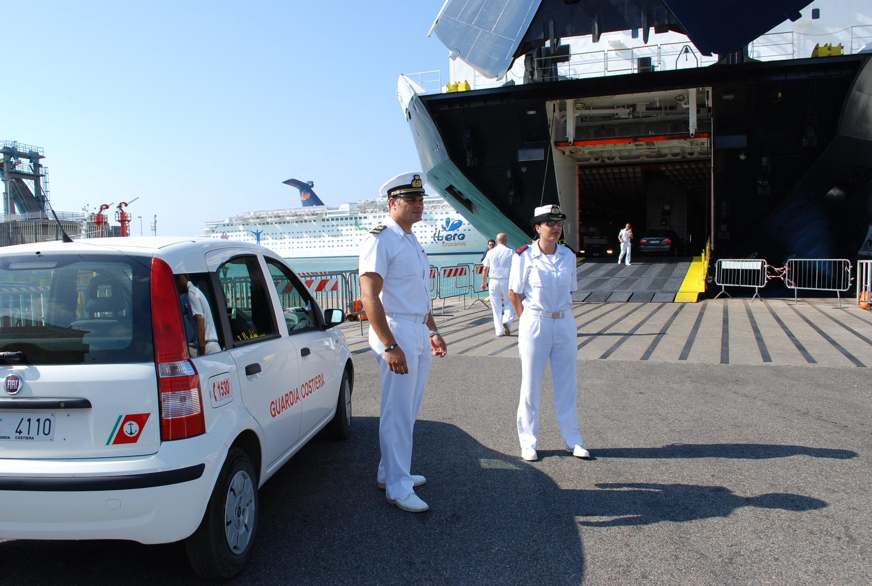 guardia costiera sicurezza porto
