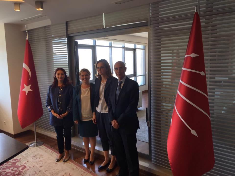 marietta tidei delegazione in turchia