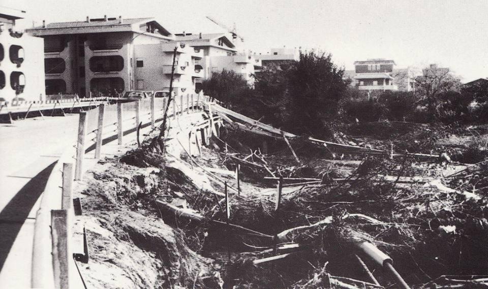 immagine alluvione 81, santa marinella
