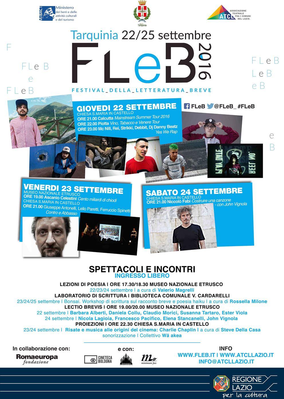 Manifesto fleb tarquinia