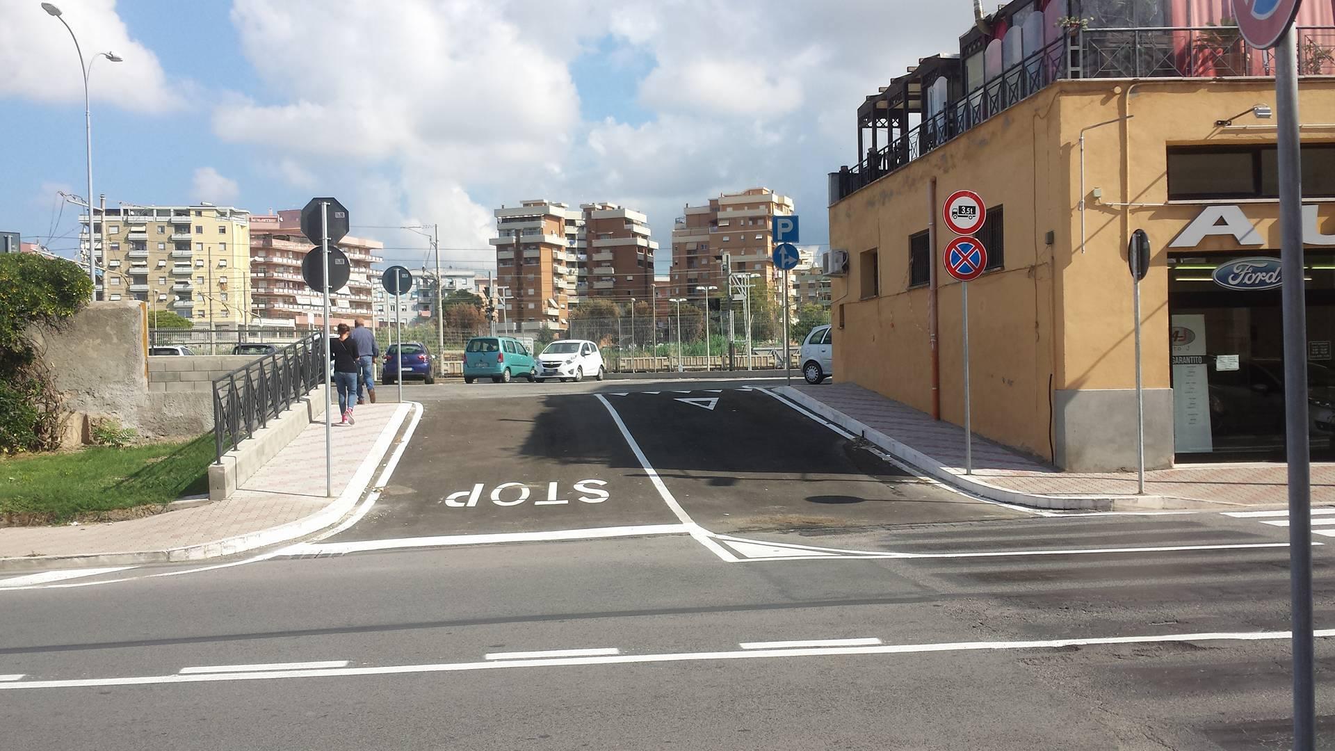 segnaletica parcheggio stazione civitavecchia