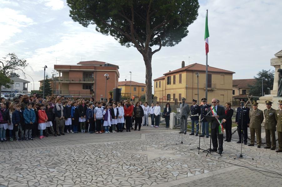 mazzola, celebrazione forze armate