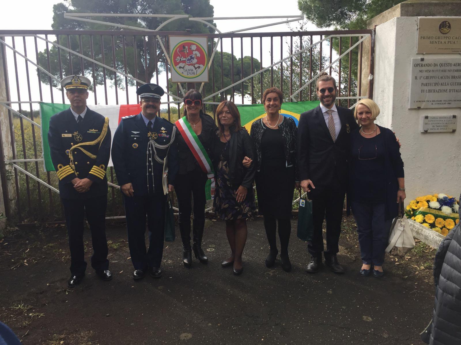 delegazione brasiliana tarquinia