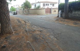 asfaltatura strade santa marinella
