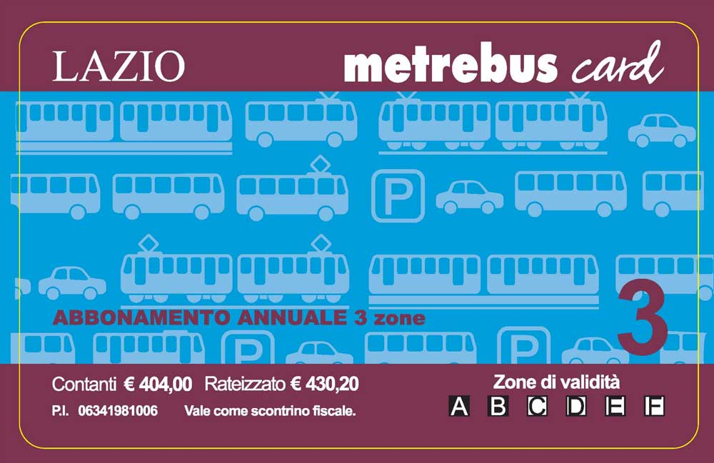 abbonamento metrebus