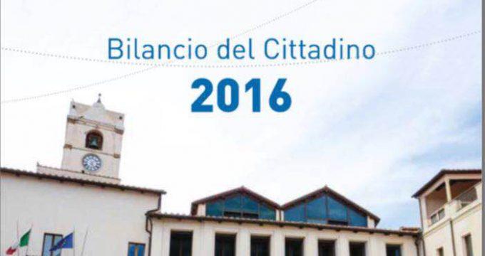 frontespizio bilancio cittadino 2016