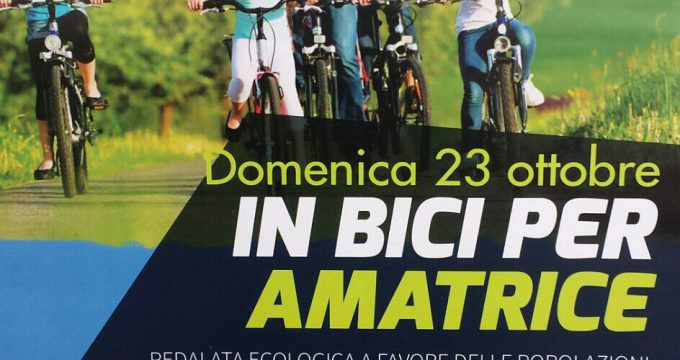 pedalata ladispoli per amatrice