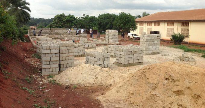 semi di pace, cantiere scuola camerun