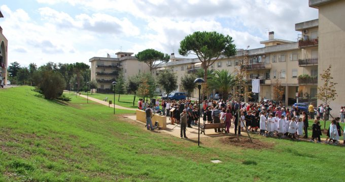 """Tarquinia, i parchi di viale Luigi Dasti e """"Falcone ..."""
