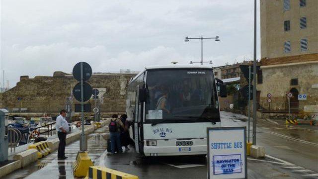 civitavecchia royal bus