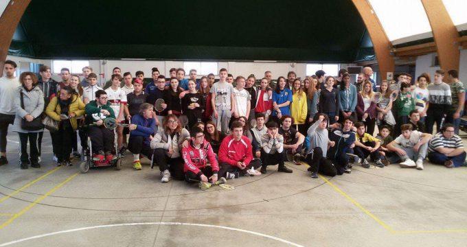 badminton a scuola, viterbo