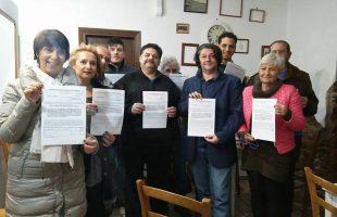 forno crematorio, comitato referendum