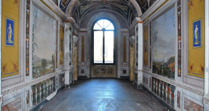 restauro palazzo bruschi galleria