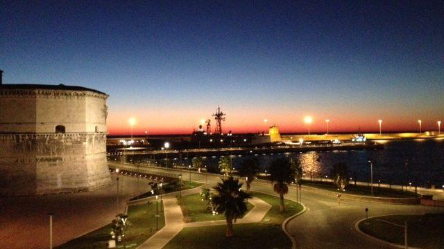 tramonto civitavecchia