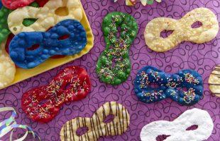 maschere di carnevale dolci
