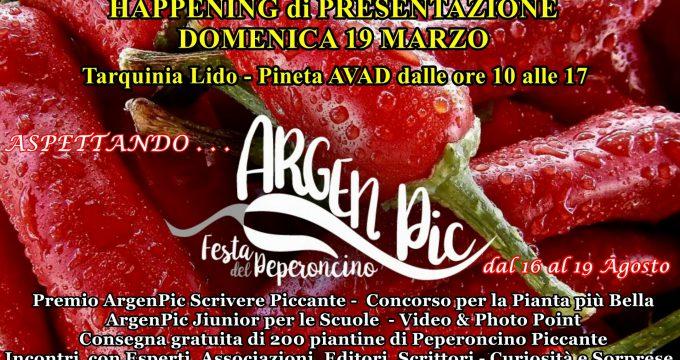 Aspettando ArgenPic 2017 - Happening Domenica 19 Marzo