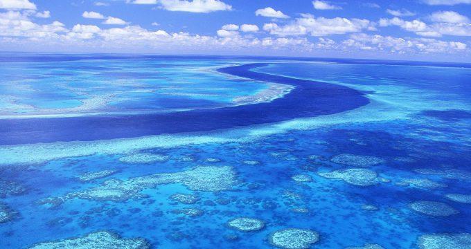 Great Barrier Reef Australia Blue Water