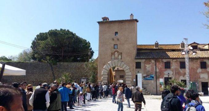 visitatori castello s. severa
